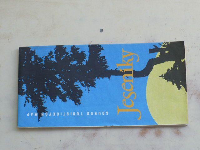Soubor turistických map 1 : 100 000 - Jeseníky (1977)