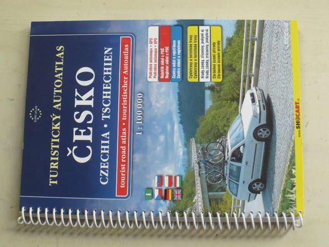 Turistický autoatlas - Česko 1 : 100 000 (2011)¨vícejazyčný