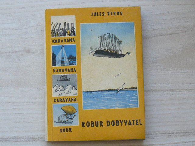 Verne - Robur dobyvatel (SNDK 1960) Karavana 10