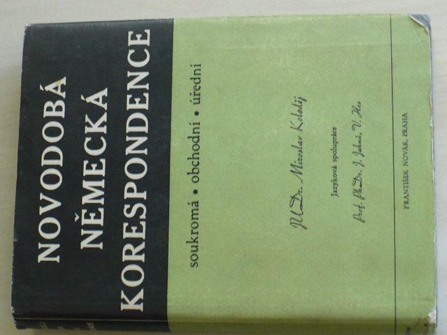 Koloděj - Novodobá německá korespondence (1941)