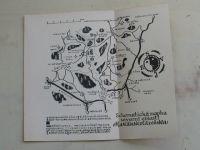 Schematická mapka severní oblasti Mariánskolázeňska 1 : 100 000