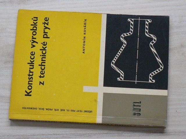 Kovářík - Konstrukce výrobků z technické pryže (1962)