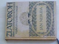Novák - Jan Neruda - Zlatoroh (1914) kresby Švabinský