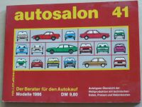 Autosalon in Buchform 41 (1986) německy