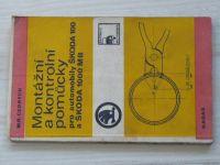 Cedrych - Montážní a kontrolní pomůcky pro os. automobily Škoda 100 a Škoda 1000 MB (1975)