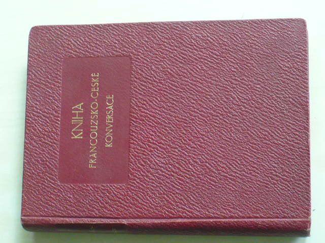 Chollet - Kniha francouzsko-české konversace (nedatováno)