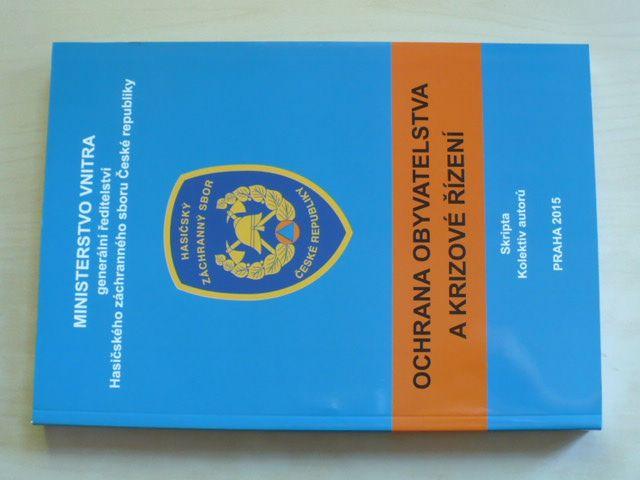 Ochrana obyvatelstva a krizové řízení (2015)