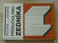 Pendl, Štrop - Příručka pro zedníka (SNTL 1990)