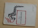 Bezruč - Píseň o Georgině (1948) obálka, frontispice Svolinský