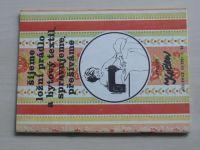 Květen - Ateliér pro služby ženám - Kolekce III č. 92 - Šijeme ložní prádlo a bytový textil (1981)