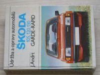 Andrt - Údržba a opravy automobilů Škoda 105-120-130-136, Garde, Rapid (1984)