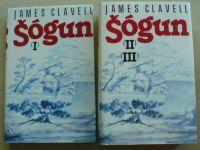 Clavell - Šógun I-III (1991-93) 2 knihy