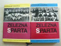 Houška - Železná Sparta 1-2 (1966-67) 2 knihy