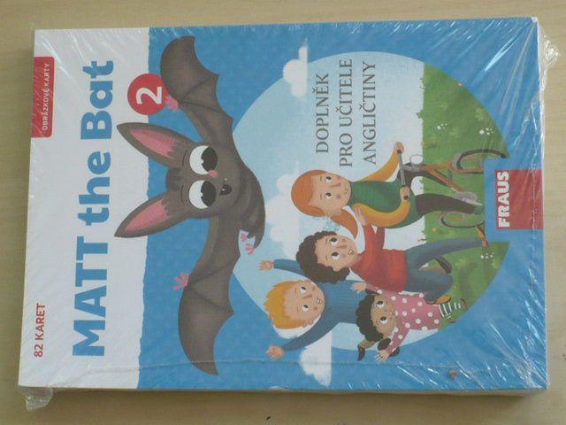 Matt the Bat 2 - 82 obrázkových karet, doplněk pro učitele
