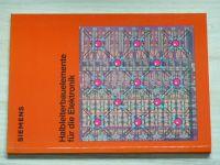 Siemens - Halbleiterbauelemente für die Elektronik - Polovodičové komponenty pro elektroniku