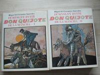 Cervantes - Don Quijote de la Mancha I. II. (1982) il. Liesler