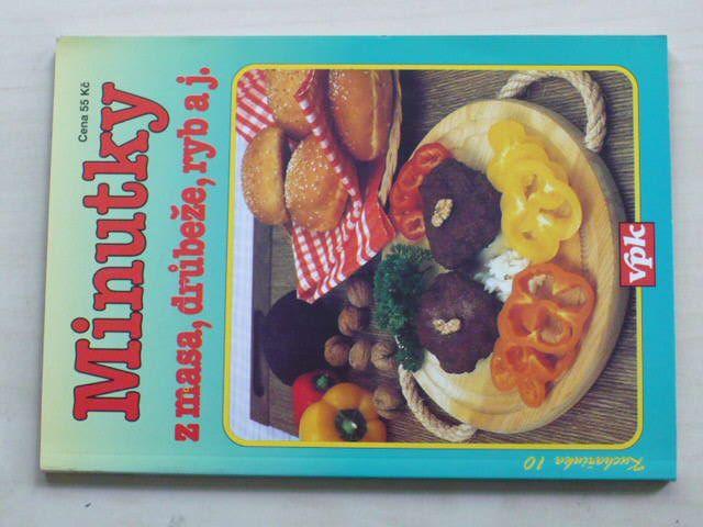 Kuchařka 10 - Vlachová - Minutky z masa, drůbeže,ryb a j. (1997)