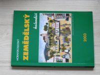Moravskoslezský zemědělský kalendář 2003