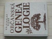 Řičař - Občanská genealogie - Základy rodopisné práce (2000)