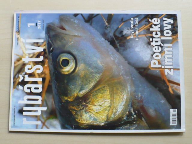 Rybářství 1-12 (2017) chybí číslo 11 (11 čísel)