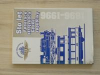 Sto let federace strojvůdců České republiky - 1896 - 1996