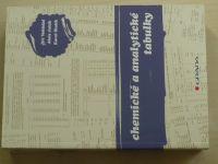Vohlídal - Chemické a analytické tabulky (2010)