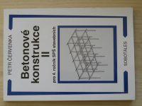 Červenka - Betonové konstrukce II. pro 4. ročník SPŠ stavebních (2002)