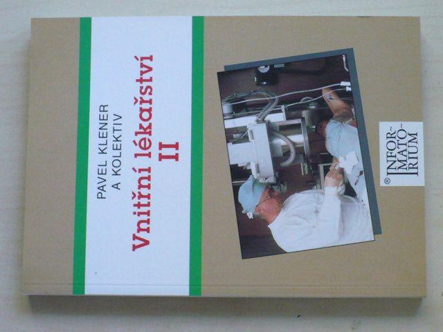 Klener - Vnitřní lékařství II. pro střední zdravotnické školy (2001)