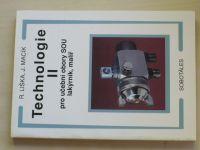 Liška - Technologie II. pro učební obory SOU lakýrník, malíř (2000)