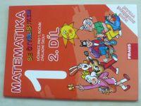 Matematika 1 se čtyřlístkem 2. díl - Učebnice pro 1. ročník základní školy (2015)