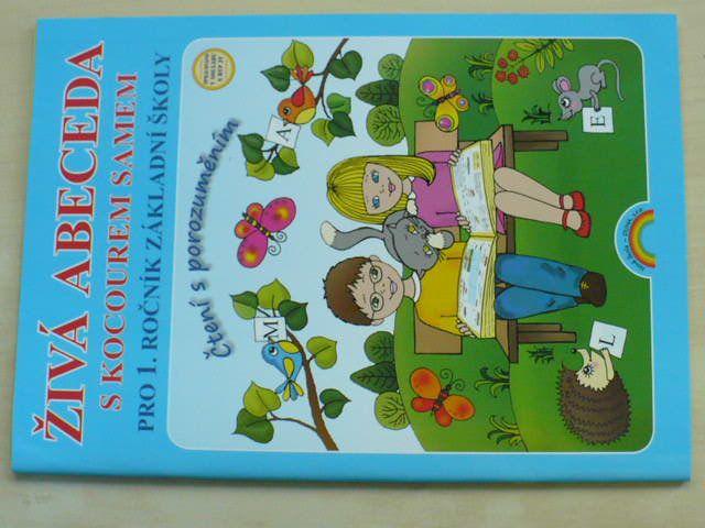 Živá abeceda s kocourem Samem pro 1. ročník základní školy - Čtení s porozuměním