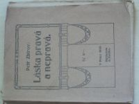 Zbirov - Láska pravá a nepravá (1920)