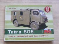 Frýba - Tatra 805 - historie, takticko-technická data, modifikace (2020)