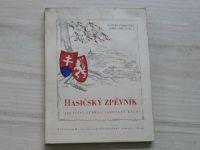 Hasičský zpěvník - 100 písní vybral Jaroslav Rauš (Brno 1947)