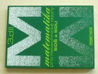 Matematika pro netechnické obory SOŠ a SOU 3. díl (2012)