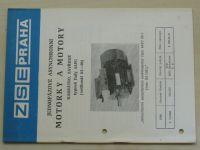Motorky a motory - nakrátko a zavřené - 4APC - velikost 63-90) (nedatováno)