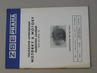 Motorky a motory - trojfázové asynchronní - nakrátko, zavřené - 4AP 63 - 132 (nedatováno)