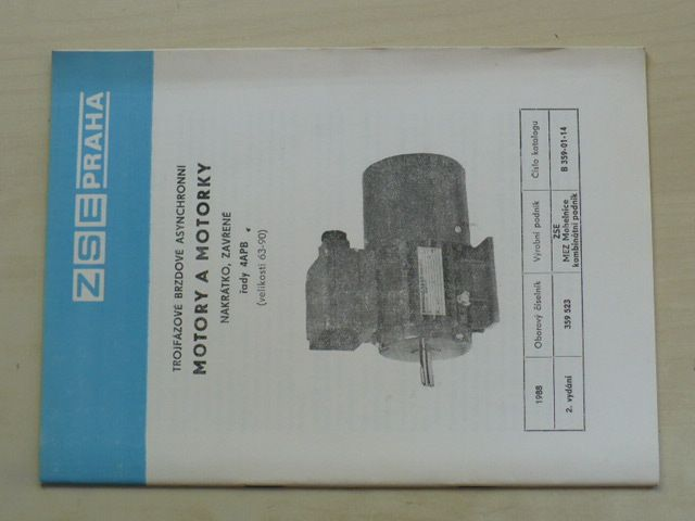 Motory a motorky - nakrátko, zavřené - 4APB (nedatováno)