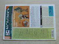 Novinky...nejen ze světa modelářství 1-6 (2002) ročník II. (chybí číslo 2/4, 5 čísel)