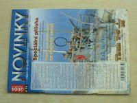 Novinky...nejen ze světa modelářství 1-6 (2004) ročník IV. (chybí číslo 3/17, 5 čísel)