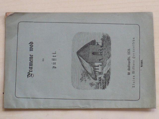 Pramene wod na pússti (1878)