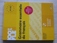 100% FLE Grammaire Essentielle Du Francais A1-A2 - Livre  (2015) + CD