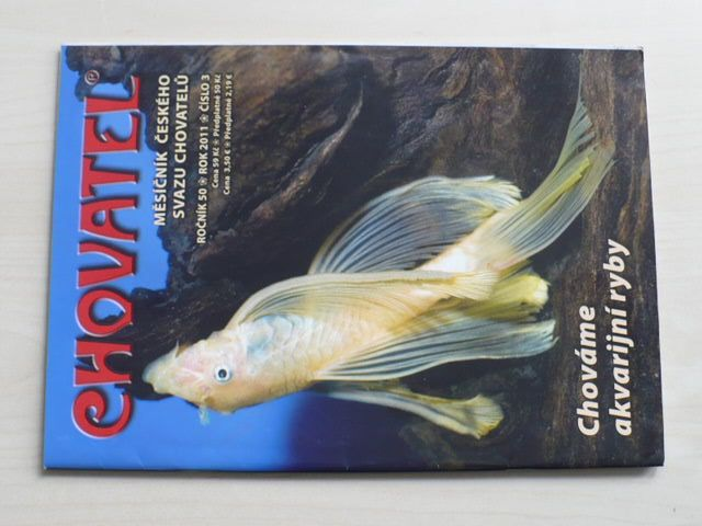 Chovatel 1-12 (2011) ročník L. (chybí čísla 1-2, 4-5, 8 čísel)