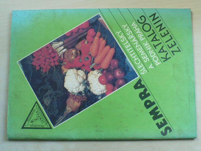 Katalog zelenin (nedatováno)