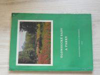 Kšír - Olomoucké sady a parky (1973) věnování autora