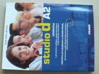 Studio d A2 - Učebnice s pracovním sešitem, audionahrávkami a vyjímatelným slovníkem (2009) Němčina