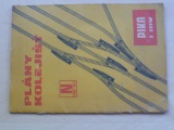 Plány kolejišť N 1:160 - PIKO Modellbahn 1970 - česky