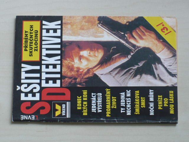 Levné sešity detektivek 3 (1998) ročník VII.