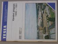 Výrobní program 1990 - 1991 (1990)