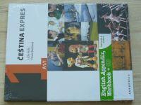 Holá, Bořilová - Čeština expres 1. - A 1/1 - anglická verze - English Appendix, Workbook + CD (2010)